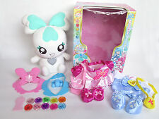 HEART CATCH PRECURE CHYPRE COFFRET TALKING PLUSH DOLL DRESS SEED BANDAI JP USED