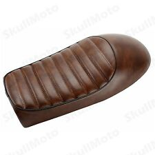 Brown Hump Custom Cafe Racer Seat Vintage Saddle For Honda CB350 CB450 CB750