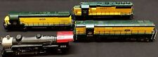 HO Scale Mixed Lot of 4 Train Cars Alco/Kato, Mehano, Athearn - Loco - Engine
