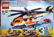 LEGO CREATOR 7345 Transport Chopper * Good Condition, Used *