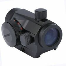 Tactical Red Green Dot Sight Scope 20mm Weaver Rail Mount for Hunt Rifle Pistol