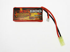 Batteria Lipo Litio 1300 mAH 7,4 V 25 C Billowy Power