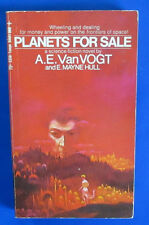 1970 PLANETS FOR SALE by A.E. van Vogt Paperback Tempo 5356 1st VG+