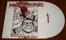 MAGRUDERGRIND REHASHED LP *RARE* WHITE VINYL SIX WEEKS PRESS 2007 US LIMITED New