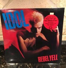 BILLY IDOL LP VINYL RECORD Rebel Yell 1983 Chrysalis NEW/SEALED OLD STOCK!