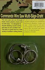 Commando Military Wire Saw Knife Cutting Survival Tactical Camping Gear. NEW!