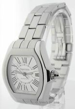 Cartier Mens Large Roadster Automatic Watch  Steel Box/Papers W6206017 + Bonus