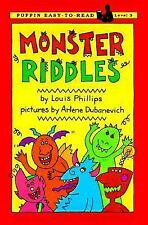Monster Riddles (Easy-to-Read, Puffin) Phillips, Louis Paperback