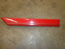 Toyota Supra MK3 91-92 Drivers front of tire trim Red 75624-14090