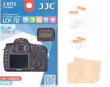 2 + 2 LCD Display Cover for Canon EOS 7D protective film protection