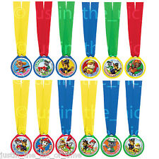 PAW PATROL Boys Girls Birthday Party Bag Fillers Award Prize Medals x 12