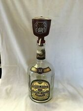 CHIVAS REGAL BLENDED SCOTCH WHISKY ONE GALLON EMPTY WITH DISPENSER VINTAGE