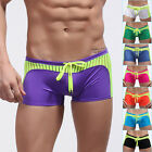 Sexy Mens Badehose Swimming Trunks Bademode Boxer Briefs Swimwear Shorts Gr:S~XL