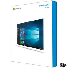 WINDOWS 10 Home - 64bit - SB/DSP Vollversion mit DVD Deutsch NEU