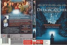 DVD * Dreamcatcher * 2003 Australian Warner Bros Pictures Issue - Classic Horror