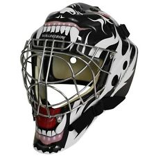 Vaughn 7700 Goal Sr Cat Eye goalie helmet senior small hockey mask Tribal Animal