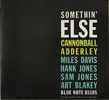 "CANNONBALL ADDERLEY ""SOMETHIN' ELSE"" BLUE NOTE JAZZ LP 81595"