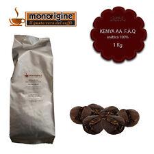 Caffè in Grani Kenya AA TOP 1 Kg - Caffè Monorigine Arabica 100%