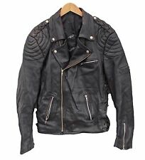 "Vintage RICHA Leather Biker jacket Perfecto Brando Punk -  L 42"" (26129)"