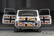 Le Set de panneaux de portes de la collection Uk Style- Mini Austin Rover Cooper