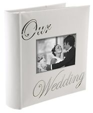 OUR WEDDING album by Malden holds 160 photos - 4x6 by Malden (7039-26)