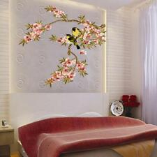 Nice Flower Vines Birds Wall Stickers Mural Vinyl Decal Removable Bedroom Decor