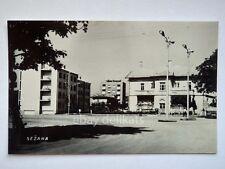 SESANA SEZANA Slovenia Slovenija piazza AK vecchia cartolina