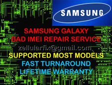 SAMSUNG GALAXY NOTE 4 S6 BAD IMEI ESN REPAIR SERVICE BLACKLIST FIX