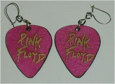 Roger Waters David Gilmore Rock & Roll Pink Floyd Guitar Pick Earrings