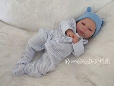 Beautiful AWAKE Reborn Baby BOY Doll...  #RebornBabyDollART UK