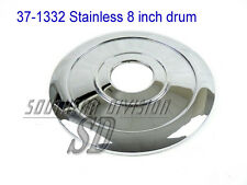 Triumph 8 inch drum brake hub cover stainless 37-1332 W1332 naben abdeckung 60th