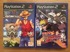 Ps2 Naruto Shippuden Ultimate Ninja 5 + One Pièce Grand Adventure