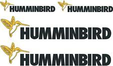 HUMMINBIRD - DECAL SET OF 4 - BOAT DECALS