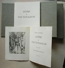 Lettre à Une Voyageuse Blanchet Jean-Pierre & Roger Secrétain N° 108/150