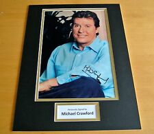 SIR MICHAEL CRAWFORD HAND SIGNED AUTOGRAPH 16x12 PHOTO MOUNT DISPLAY OPERA & COA