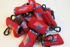 20 Flash Drive Holders Only -- Flag Red