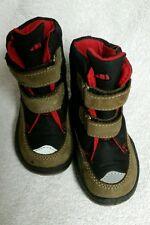 Elefanten Kinder Boots Stiefel, schwarz braun rot, Gr. 20, wie neu