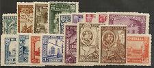 Edifil 566/582*  Pro Union Iberoamericana  1930 ( CORREO GRATUITO )   NL512