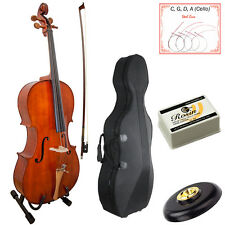 Paititi PTTCE101 4/4 Size Solid Wood with Jujube Parts Beginner Cello Kit