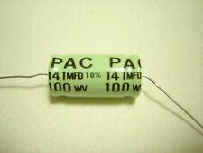 PAC 141 mfd / 100 Volt Speaker Crossover Audio Capacitor - Bass Blocker