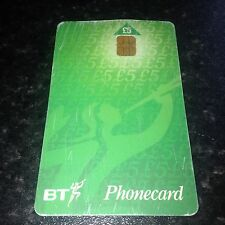 BRITISH TELECOM PHONECARD BT PHONE CARD £5 COLLECTABLE Expiry Date March 1999