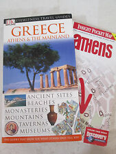 GREECE Athens & The Mainland ~ DK Eyewitness Travel Guide Book with Map