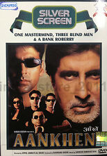 Aankhen - Official Bollywood Movie DVD ALL/0 English Subtitles