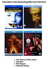 HANNIBAL LECTER QUADRILOGY BLU RAY COLLECTION ALL 4 MOVIE FILMS Brand New Sealed