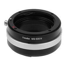FOTODIOX objectivement adaptateur Nikon G-Mount Lentille pour Canon EOS-M caméra