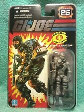 FIREFLY1984 Cobra Saboteur IGI joe 25th anniversary foil card figure