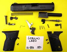 LORCIN L 380 BLACK SLIDE GRIPS TRIGGER SMALL PARTS ALL FOR ONE PRICE #16-843
