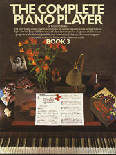The Complete Piano Player 3 Sheet Music Book Only Learn How To Play Method