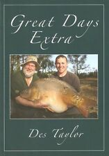 TAYLOR DES FISHING ADVENTURE BOOK GREAT DAYS EXTRA CARP paperback bargain new