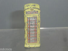 "DINKY TOYS MODEL No.12c  TELEPHONE BOX  ""RARE PRE-WAR WHITE VERSION """